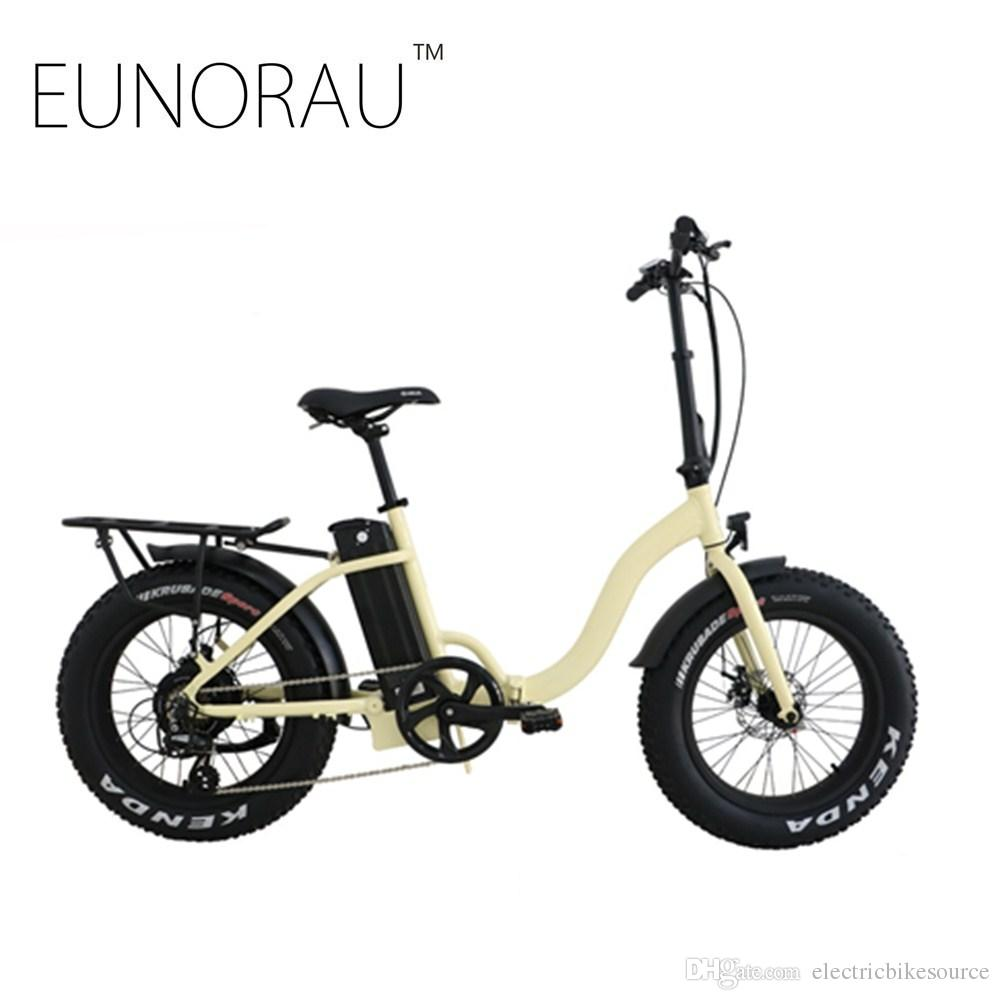 Free shipping USA/CANADA High Speed Fat tire electric bike 20 inch folding electric bicycle