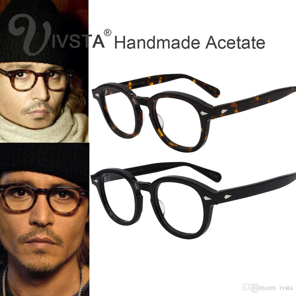 b0e6dfd253 Acquista MOSCOT Con Logo Originale Lemtosh Johnny Depp Style Occhiali Da  Vista Uomo Retro Donna Optical Spectacle Tortoise Handmade Acetato Demi CE  A  6.03 ...