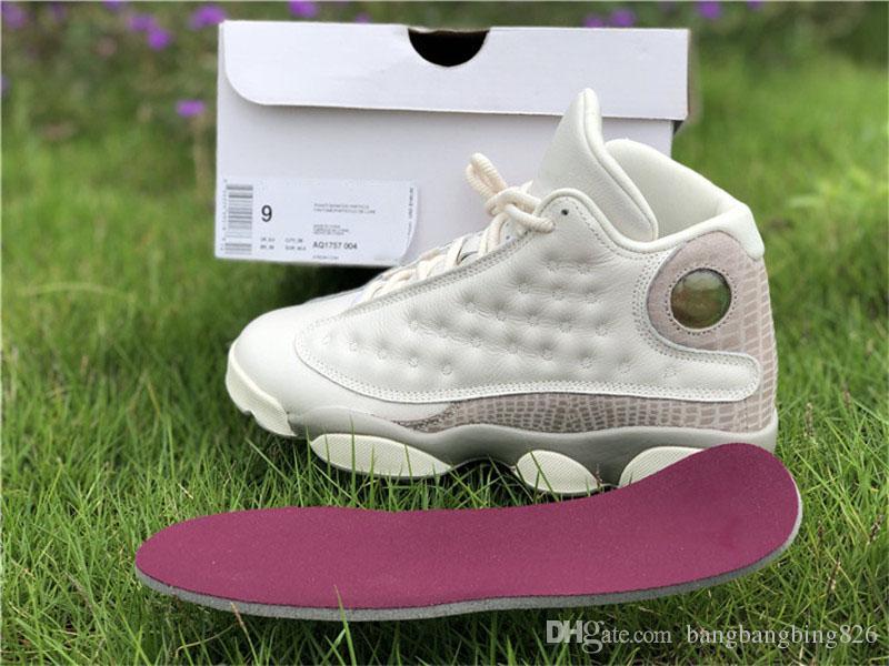 release date: 4b326 cba15 Compre 2018 13 Phantom Moon Particle 13s Mujeres Hombre Zapatillas De  Baloncesto Limited Sports Sneakers Con Original Caja Auténtica Calidad  Aq1757 004 A ...