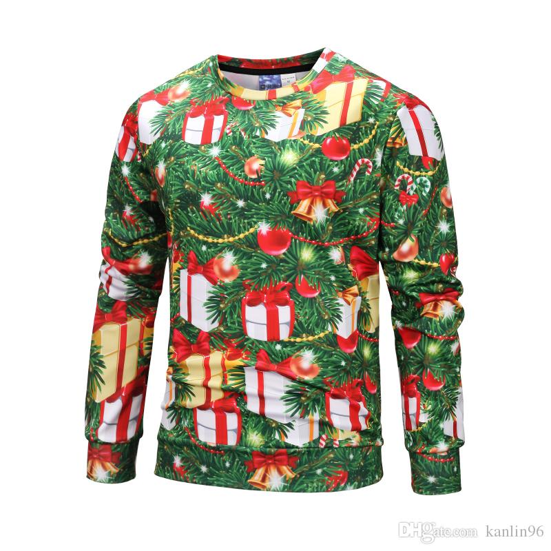 78a0181c4159f 2019 OEM Service Winter Cheap Manufacturer China Heavy Weight 3D Sportswear  Unisex Fleece Warm Christmas Tree Printing Claus Hoodies#WY808605 From  Kanlin96, ...