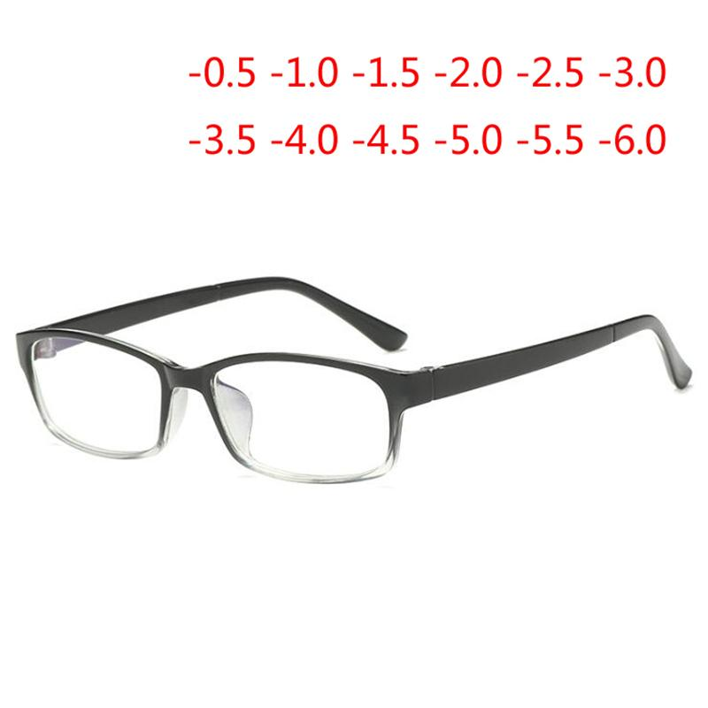 4f13f6a2b9 0 -0.5 -1 -1.5 To -6 .0Finished Myopia Glasses Women Men Anti-Blu ...