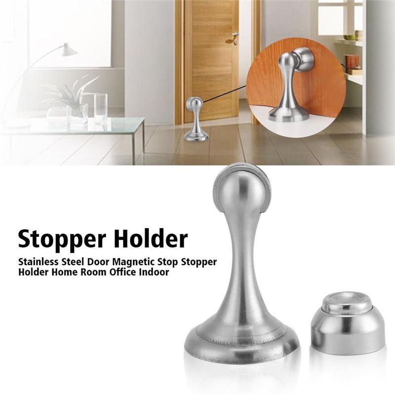 Tür Knallen Stopper großhandel edelstahl büro tür boden magnetstopp stopper halter