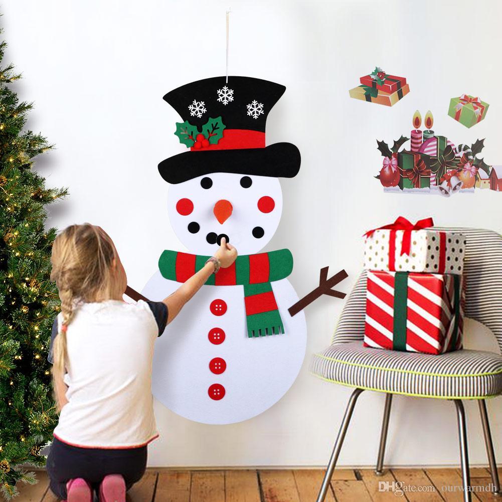 Compre Regalos De Navidad Para 2018 Juego De Muneco De Nieve De