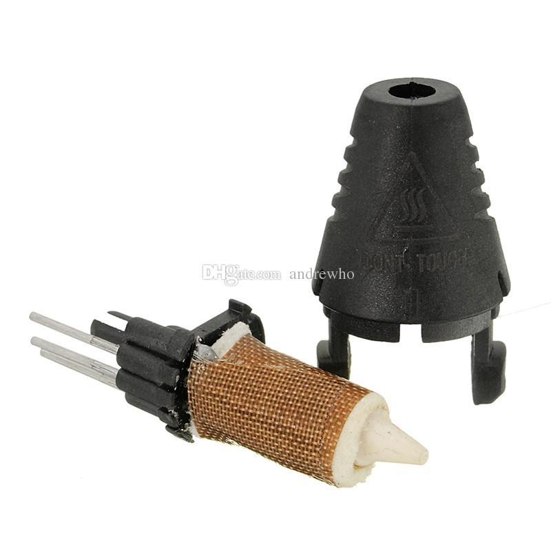 Pieza de la cabeza de la impresora 3D para la pluma de la impresora 3D Boquillas individuales / Extrusora con accesorio de kit de impresora de filamento de ABS / PLA