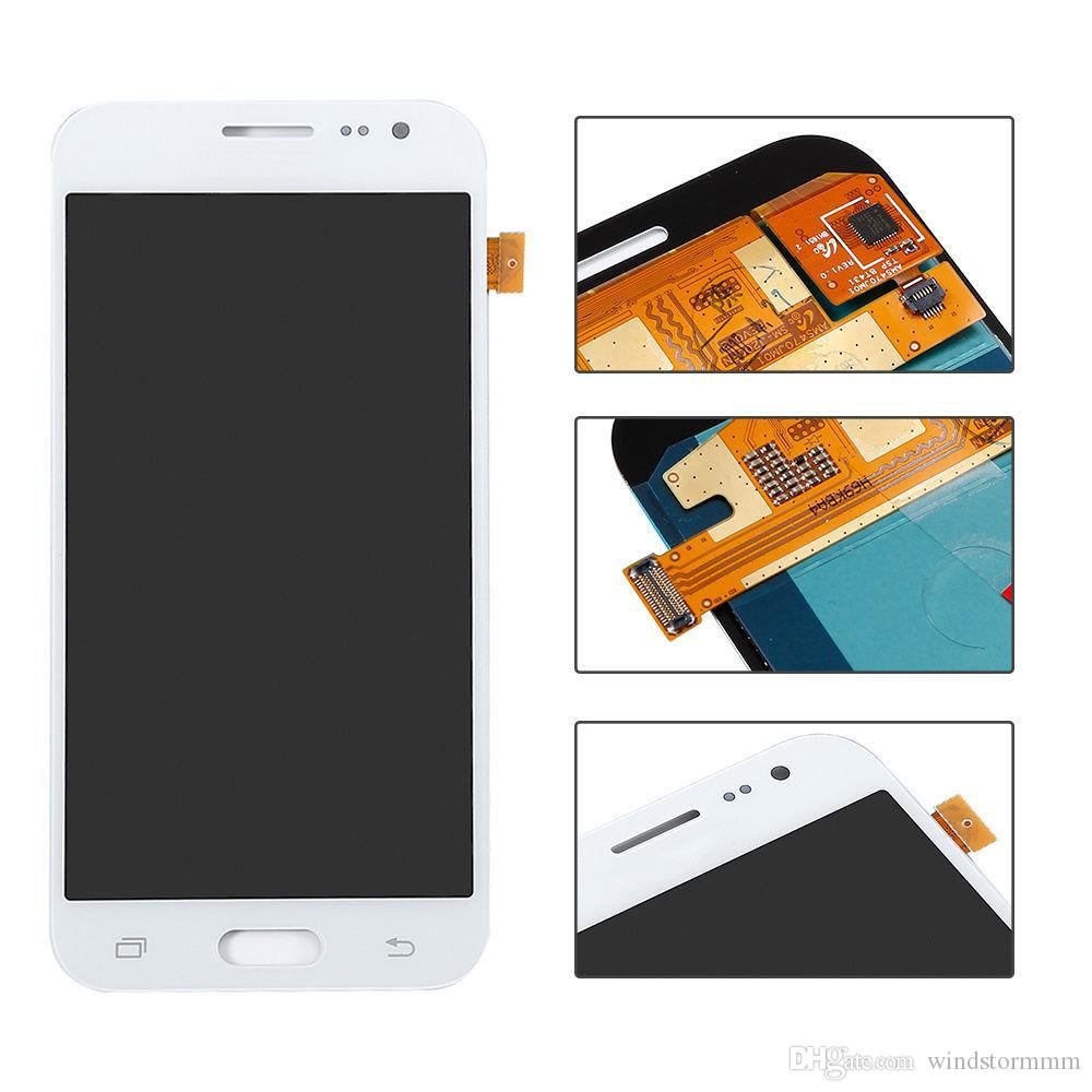 Lcd screen For samsung galaxy j2 2016 j210 touch digitizer assembly Brightness is not adjustable free DHL