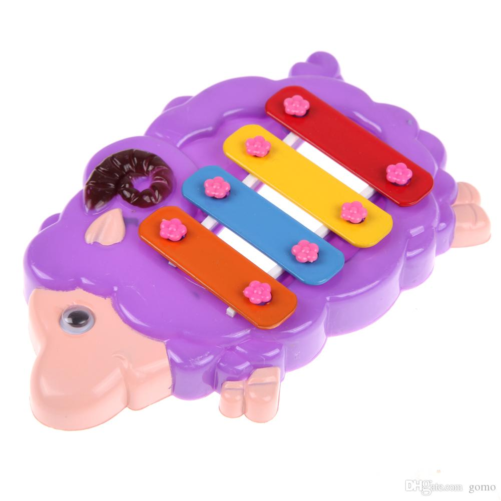 5862e9990 2019 Baby Music Toy 4 Note Resonator Bells Animal Design For Kids  Educational Toy Baby Infant Playing Toy Musical Instrument From Gomo, $1.04  | DHgate.Com