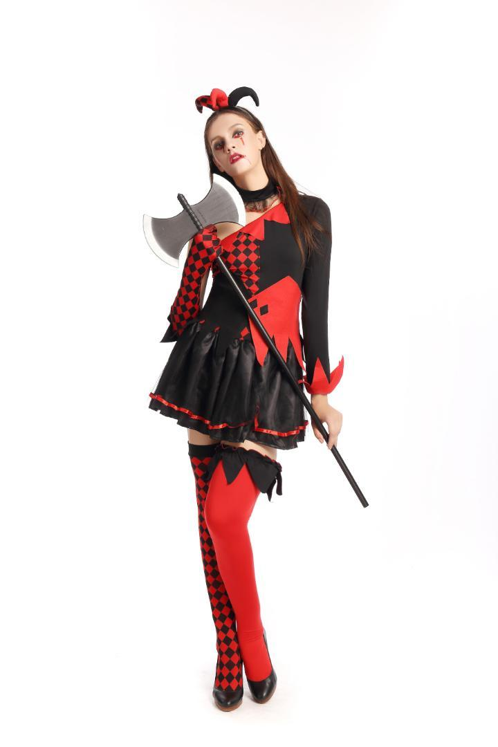 Acquista Costumi Del Pagliaccio Di Carnevale Di Halloween I Costumi
