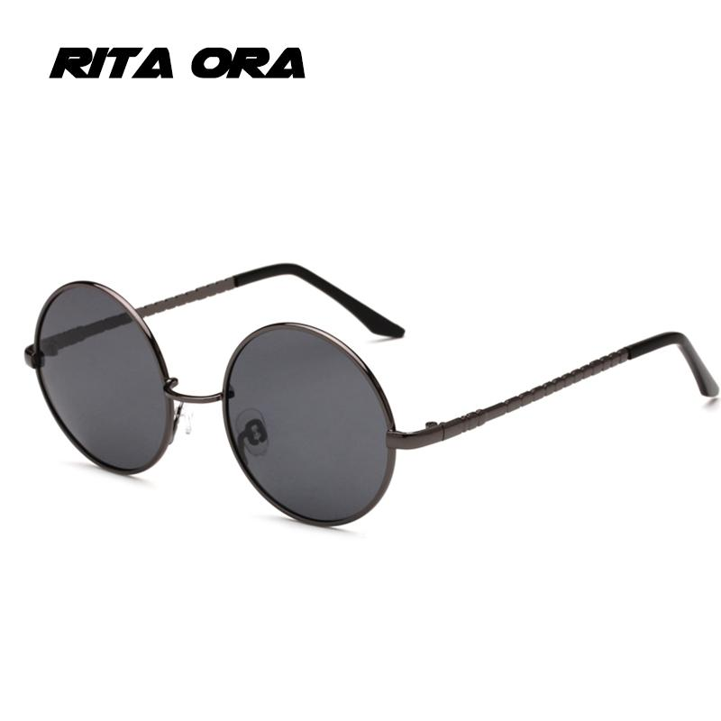 762c2aeffb Rita Ora 2018 Classic Round Sunglasses Men Women Retro Sun Glasses Fashion  Brand Designer TAC Lens Eyewear Gafas Oculos UV400 Heart Sunglasses Circle  ...