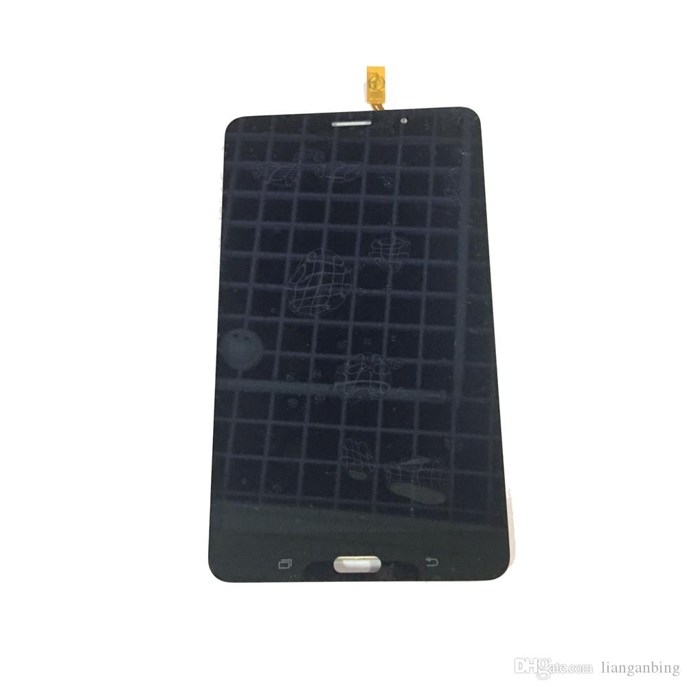 NEW LCD Display Touch Screen Digitizer For Samsung Galaxy Tab 4 7.0 T231 3G Black White With Tempered Glass DHL logistics