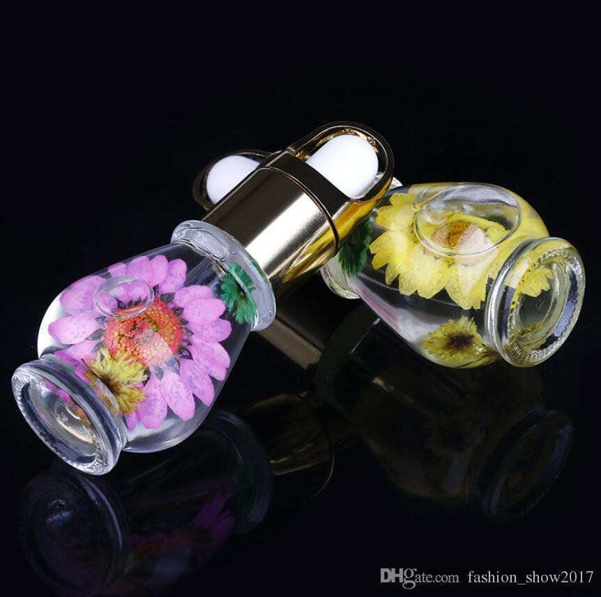 새로운 큐티클 오일 네일 트리트먼트 드라이 플라워 자연 영양 액체 유연제 손톱 가장자리 보호 케어 바디 건강 선물