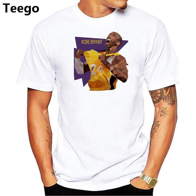 Compre Camiseta De Hombre De Verano De Dibujos Animados Kobe Bryant Camiseta  De Algodón De Manga Corta Camiseta Hombre Boy Top Tees A  13.07 Del Smtcc  ... 537a7cc8b74db