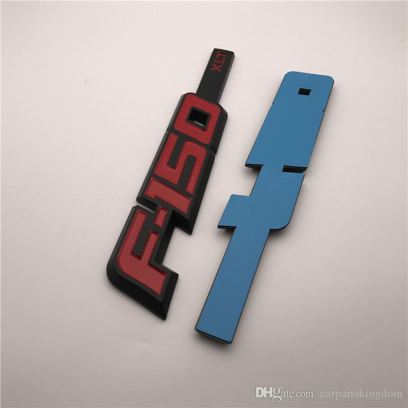 Özel 3D ABS Renk F150 TXL yan kapı çamurluk rozeti amblemler etiket tabela Logo 2 Adet / çift
