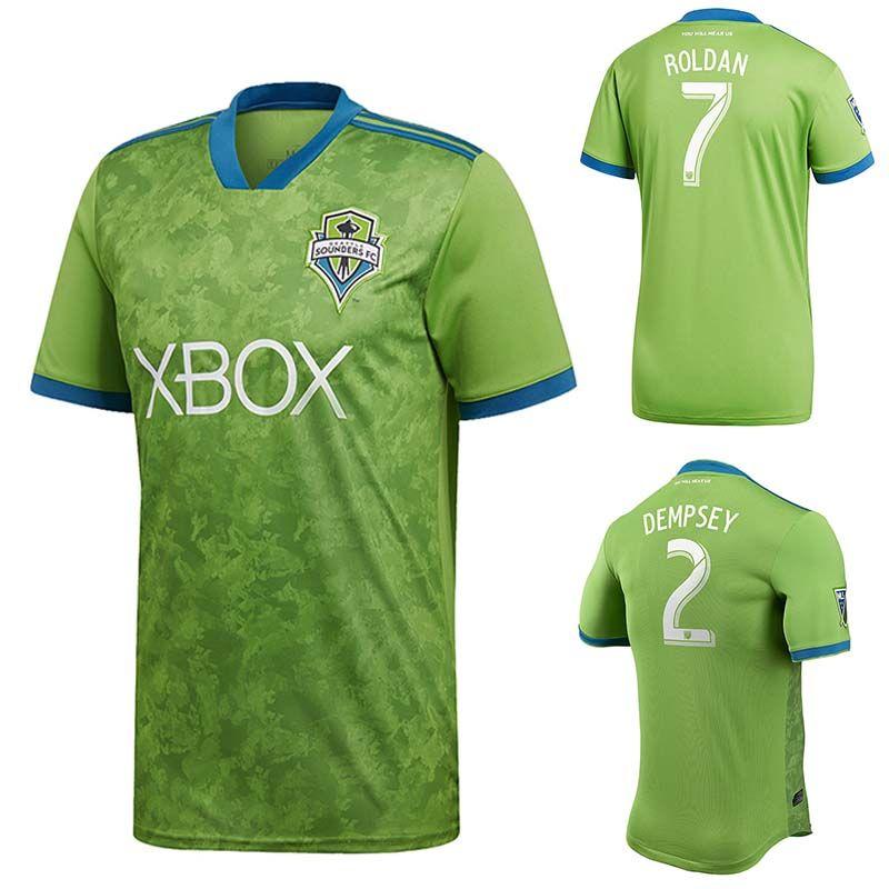 c1aede24b6bdb Jersey De Fútbol Dempsey 2019 Seattle Sounders FC 18 19 Roldan Torres  Morris Lodeiro Uniformes De Fútbol MLS Verde S 2XL Por Bet best