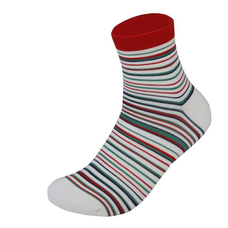 2018 Male Sports Cotton Socks Multicolor Men Sock Fashion Business Style Pinstripe Sock Comfortable Breathable Colorful Antibacteria