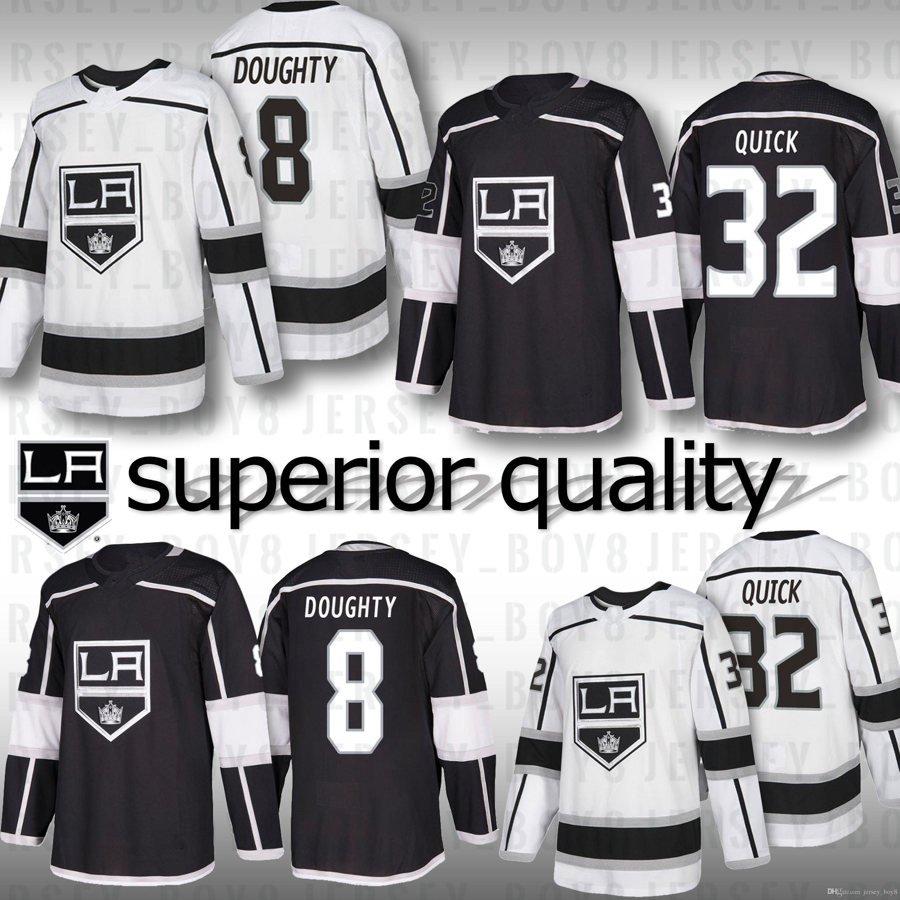 Mens Women Kids Hockey Jersey 11 Anze Kopitar 8 Drew Doughty 32 ... e5e8bb757