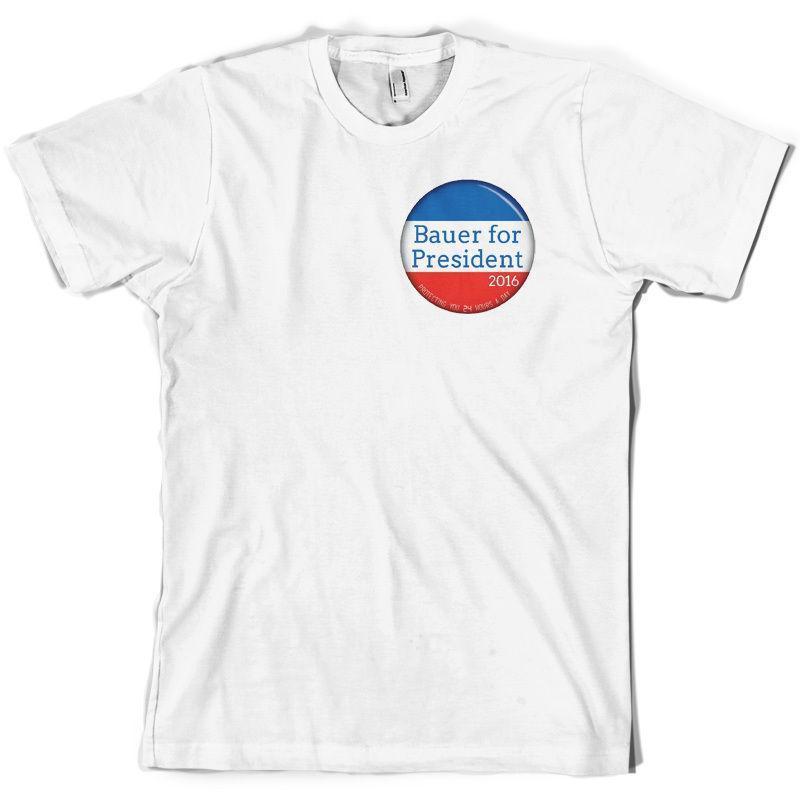 Großhandel Bauer Für Präsident Mens T Shirt Tv Jack 10 Farben Free
