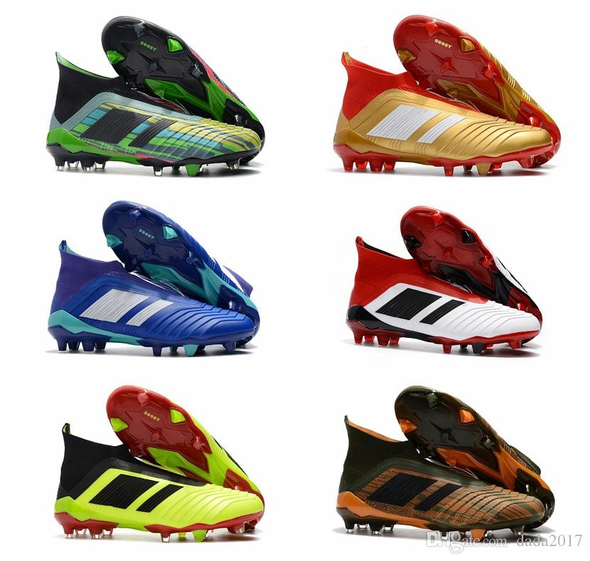... price reduced 2018 High Ankle Youth Football Boots Ace Predator 18+X  Pogba Fg Accelerator ... b36b792a5
