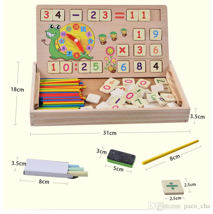Boîte d'apprentissage informatique numérique multifonctions, supports d'enseignement précoce, éducation préscolaire, éducation préscolaire et jouets à vendre