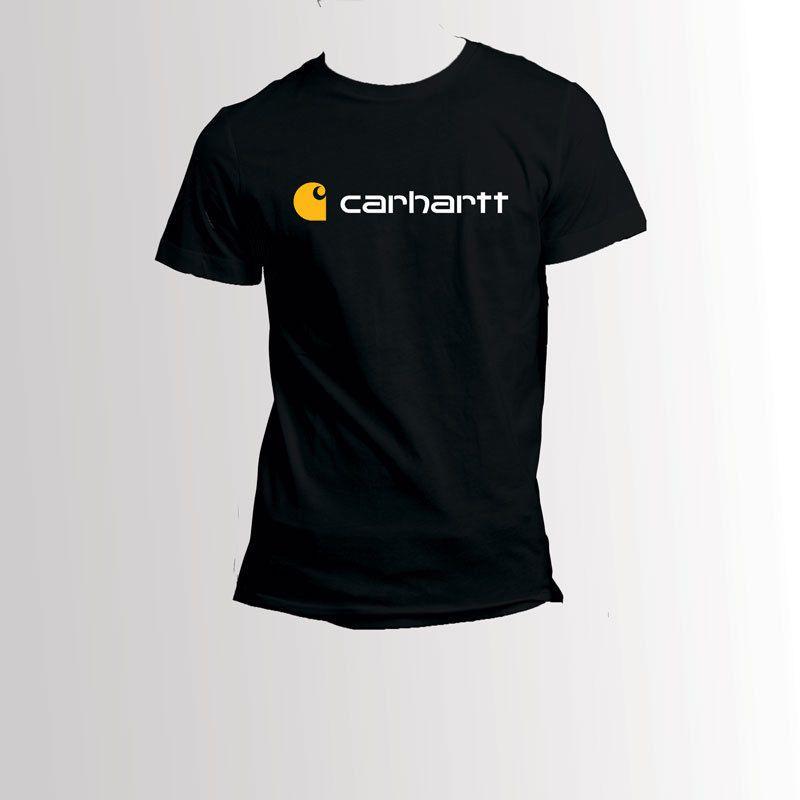 Compre Carhartt Esfrega O T Shirt Preto Do T Shirt Do Símbolo De  Xm24tshirt d0293be204c