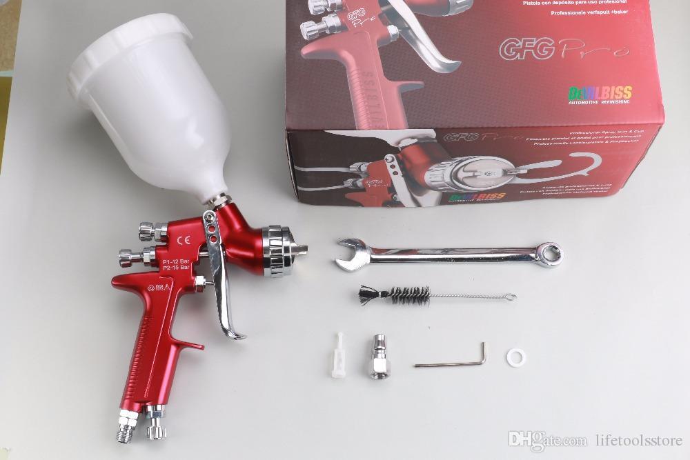 Wholesale and retail GFG Pro professional spray gun LVMP car paint gun,  painted high efficiency/GFG SPRAY GUN