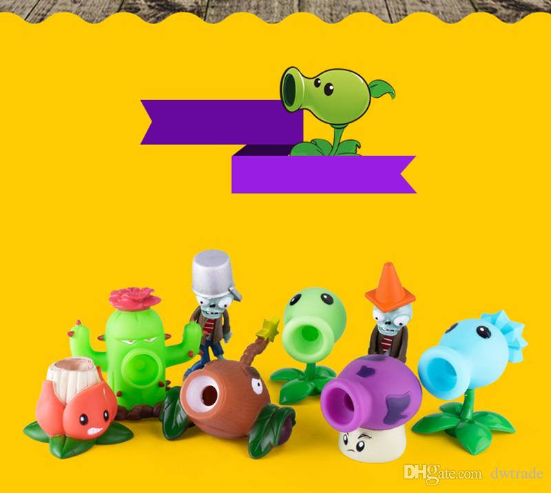 PVZ Plants vs Zombies Peashooter PVC Action Figure Model Toy Gifts Toys For Children High Quality Brinquedos with Box