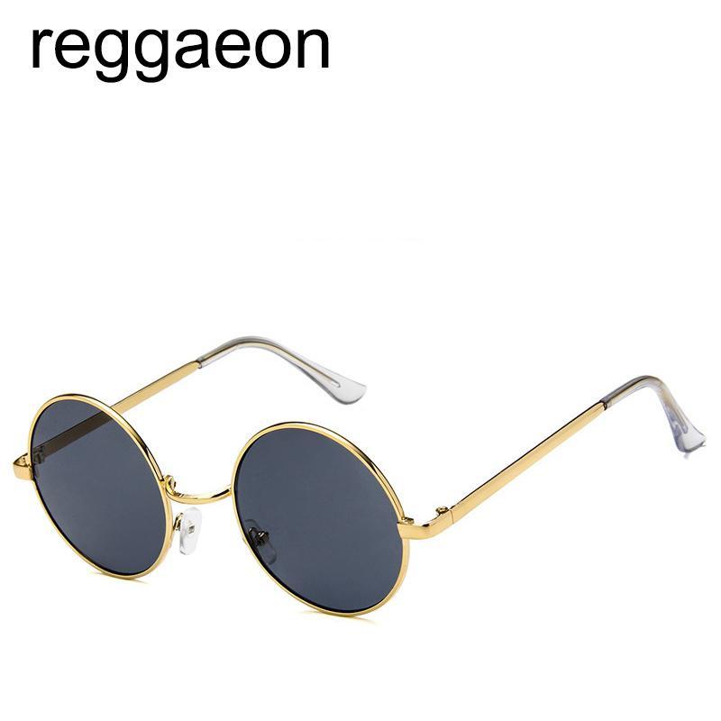 3ebcf56f818 Round Steampunk Sunglasses Men Women Fashion Marine Lens Glasses Brand  Designer Retro Frame Vintage Sunglasses High Quality Glasses For Men Mens  Eyeglasses ...