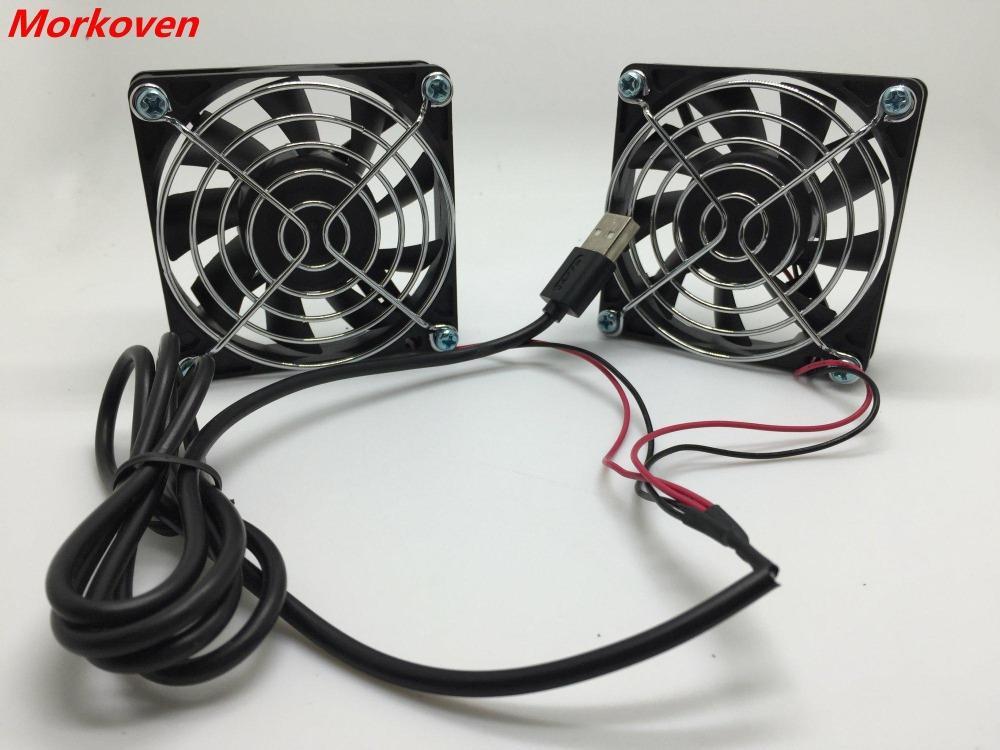 FOR ASUS RT-AC68U EX6200 router 5v mute fan cooling Netgear R7000 Wireless  EA4500 R6300 R6200 12CM 7CM USB Cooler FAN 12025