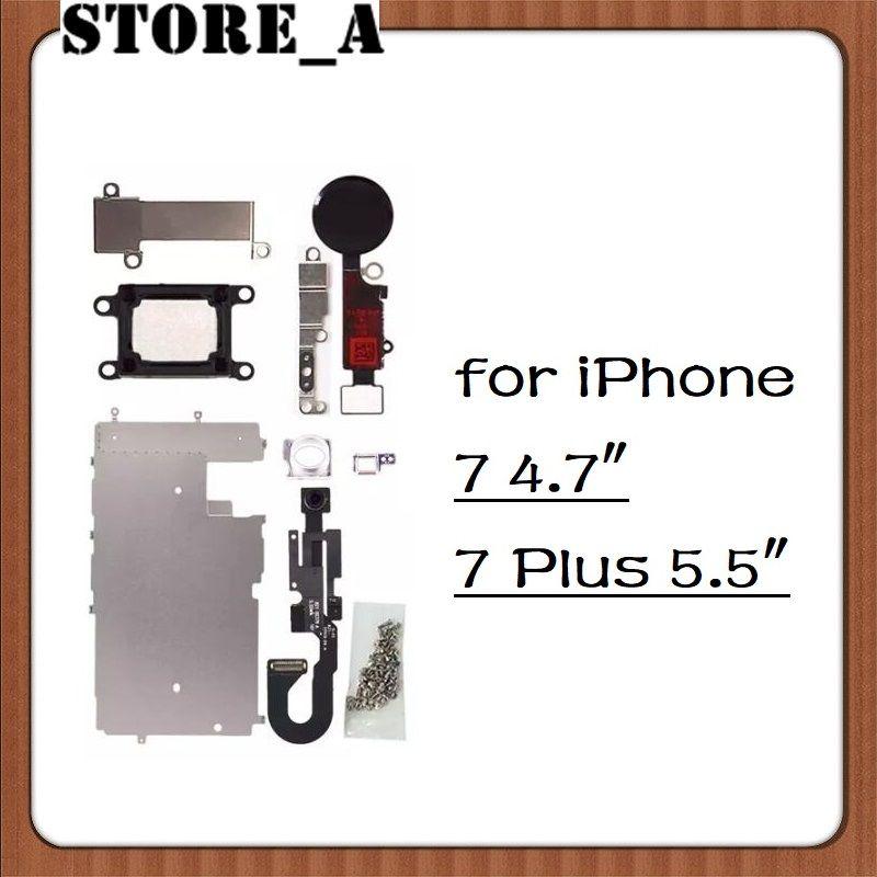 For Iphone 7 7 Plus Lcd Repair Parts Metal Plate Kit Front Camera