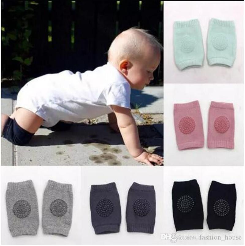 Socken & Strumpfhosen Kleinkind Sicherheit Knie Pad Baby Tier Mesh Socke Elbow Pads Kid Baby Crawl Kniescheiben Baby Bein Wärmer Babykleidung Mädchen