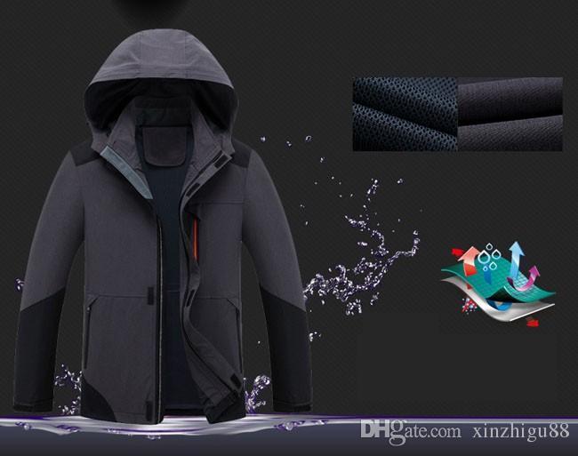 Мужчины Куртка Softshell Военная Охота Ветрозащитный Треккинг Рыбалка Пальто Восхождение Водонепроницаемый Открытый Спорт Отдых Туризм Куртка