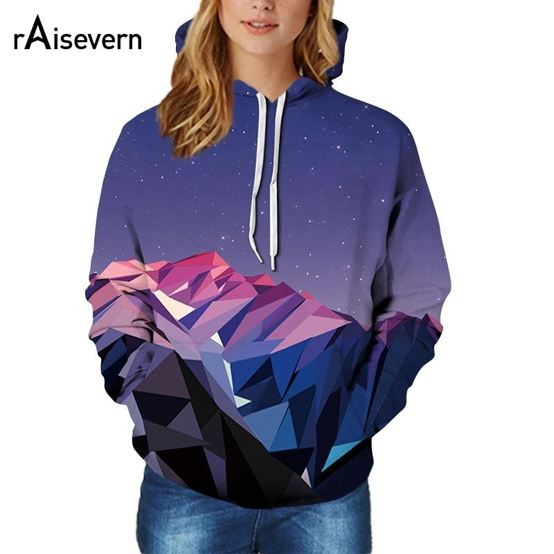 6ea313434e 2019 Raisevern 2018 Spring Fashion Space Galaxy Hoodies Triangle Color  Blocks Hooded Men Women Sweatshirt Brand Clothing Dropship From Elizabethy