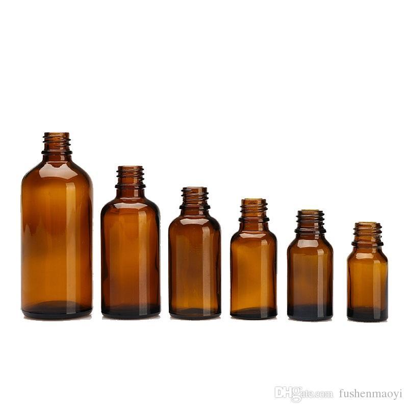 앰버 유리 병 블랙 에센셜 오일 향수를 위해 설계된 분무기 스프레이 펌프 제품 Aromatherapy Bottles