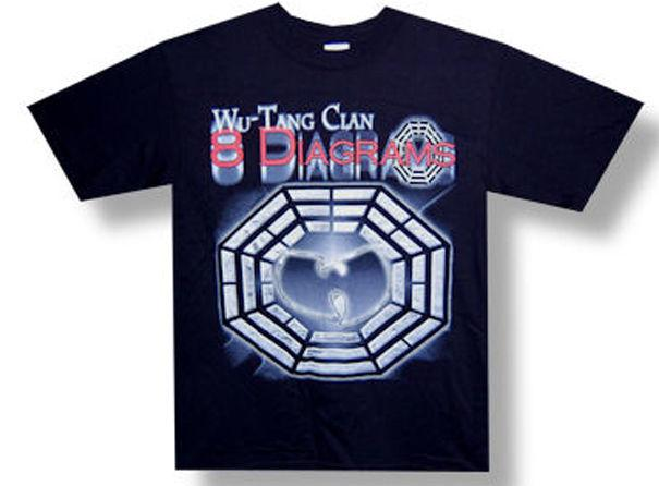 Compre Camiseta Wu Tang Clan 8 Diagrams Tour Foil Black A 1156 Del