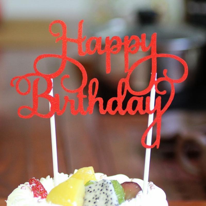 Acheter Nouvelle Arrivée Gâteau Topper Joyeux Anniversaire Gâteau