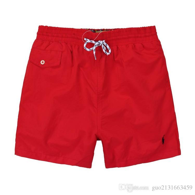 Yaz Mayo Plaj Pantolon Mens Kurulu Şort Siyah Erkekler Sörf Şort Küçük At Swim Sandıklar Spor Şort de bain homme M-2XL ..
