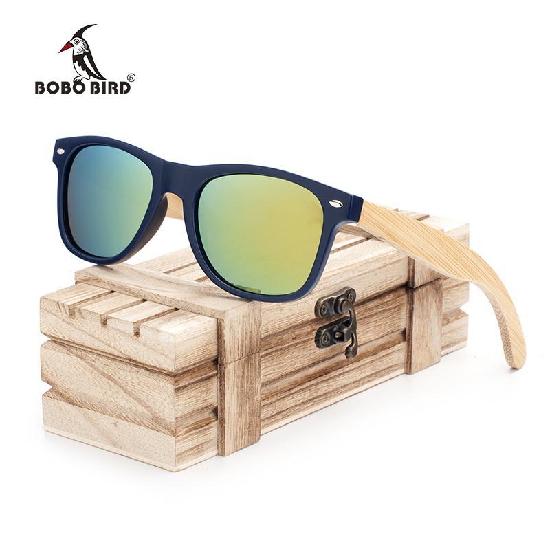 94af1924a77 BOBO BIRD New Women Fashion Coated Polarized Bamboo Wood Holder Sun Glasses  With Retail Wood Case Cool Beach Sunglasses CG005 C Tifosi Sunglasses Cheap  ...