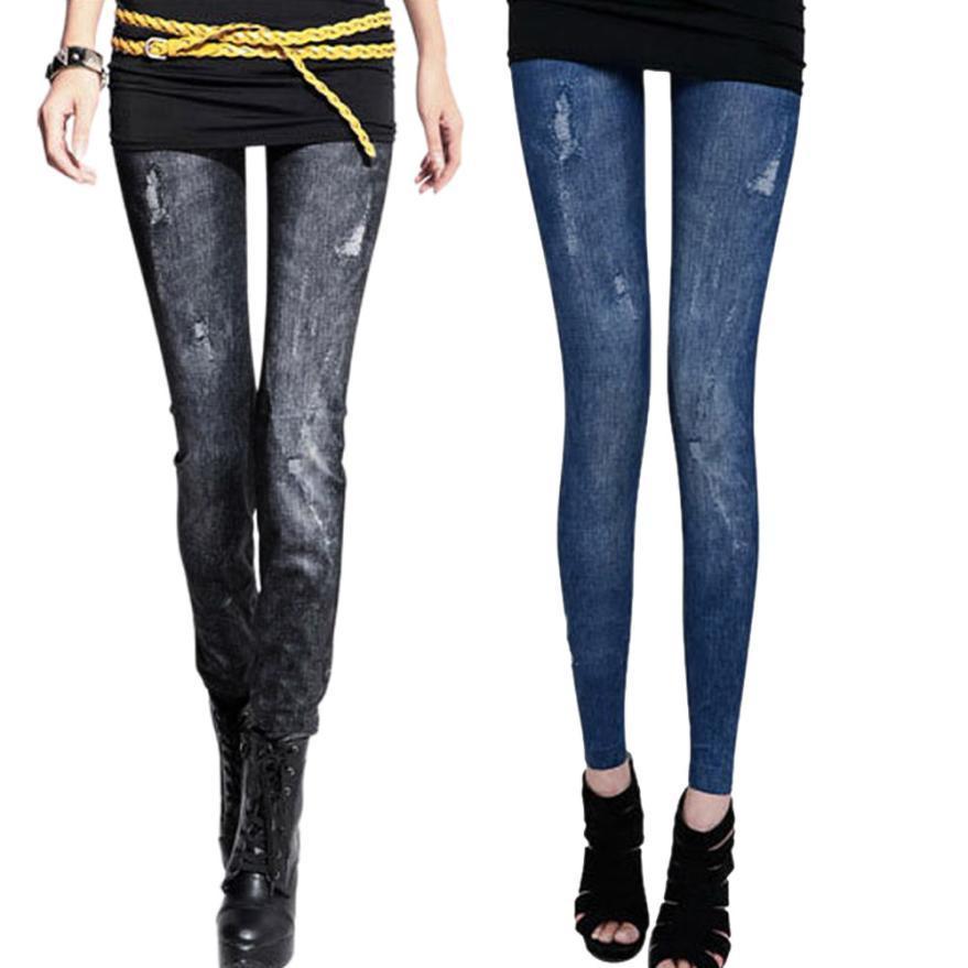 041c30ca57b Jeggings Jeans Pantalon Femme Women Jean Blue Black Ladies Calca Feminina  Legging Inverno Denim Skinny Legging Pants  OR Online with  22.66 Piece on  ...