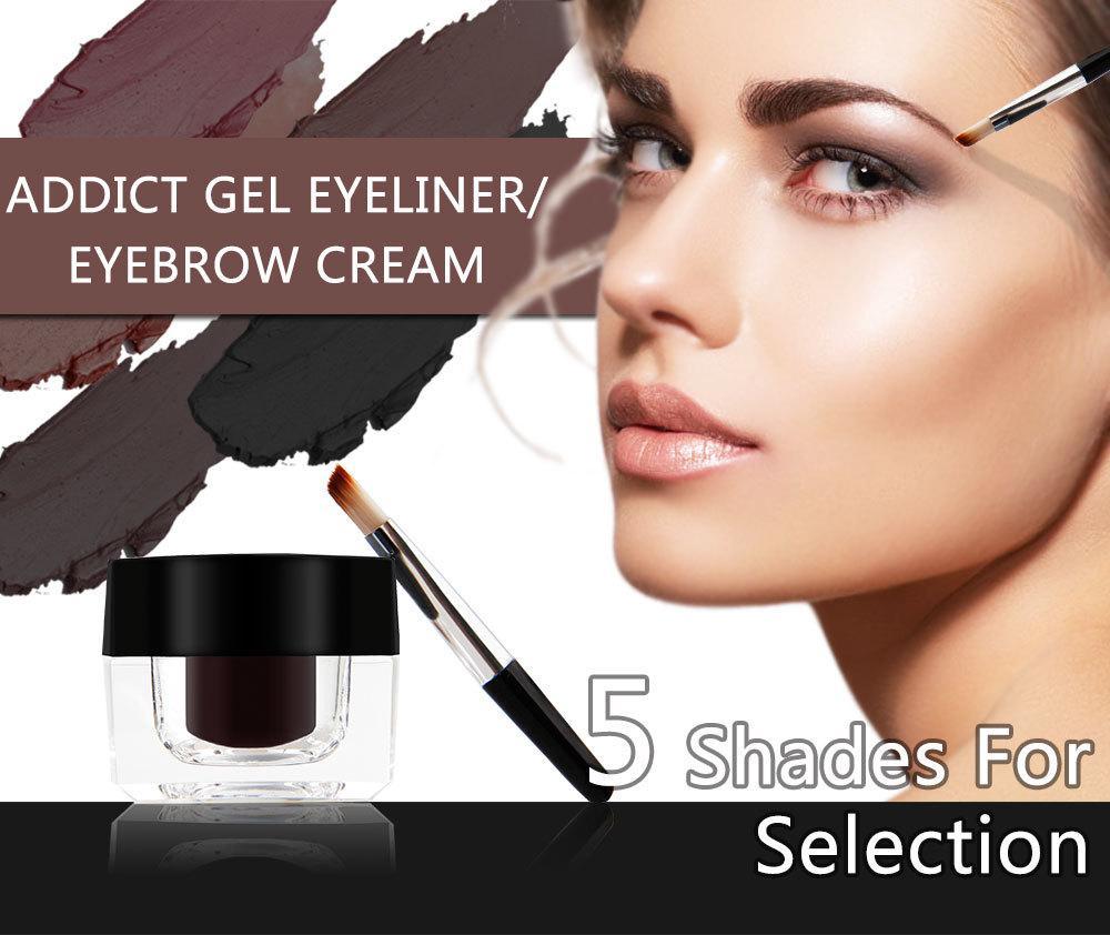 Grosshandel 5 Farben Pigment Wasserdichte Henna Augenbraue Enhancer