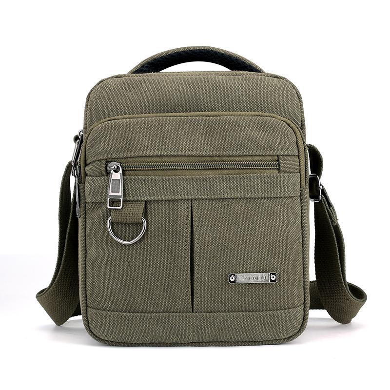 Preppy Style Flap Solid Khaki Canvas Messenger Bag For Man New 2018 Fashion  Crossbody Bag Multi Function Leisure Shoulder Bags For Women Cheap Designer  Bags ... d3c2e218054ad
