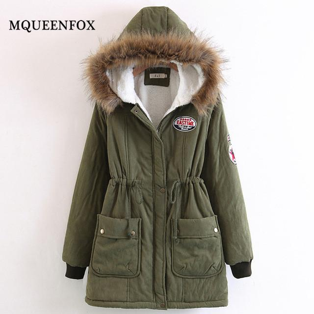 ff3ec809f7d New Winter Jackets Plus Size Warm Thicken Down Cotton Coats Female ...