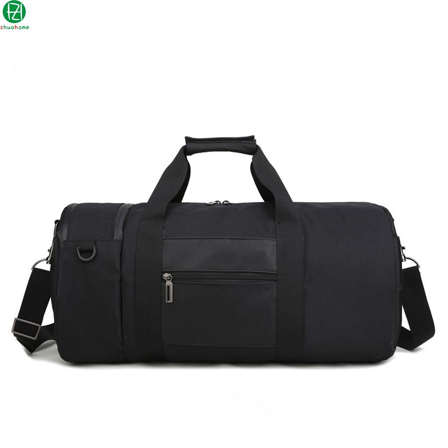 37ef736dab2a New Hot Nylon Men Travel Bag Black Bucket Type Duffel Bag China Brand Handbags  Tote Black Men Messenger Shoulder Crossbody Carry Bags Toiletry Bags From  ...