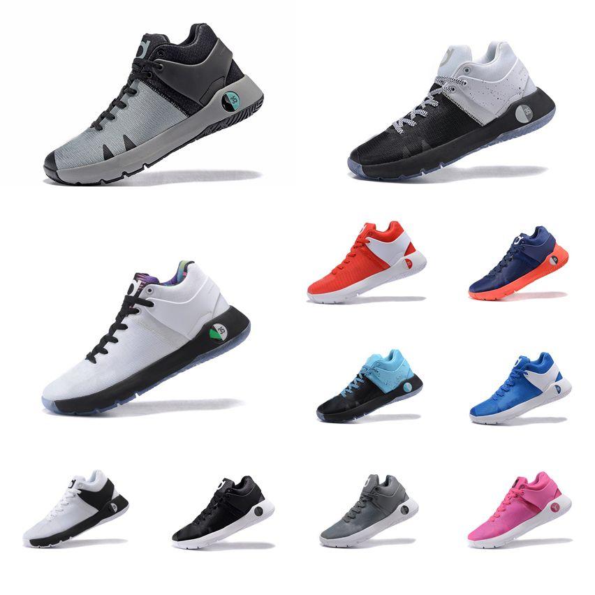 1da0a1f138f9 Cheap Men KD Trey 5 IV EP Basketball Shoes Red White Black Aunt ...