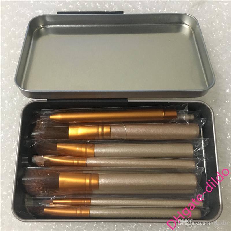 Лучшее качество бренда N3 макияж кисти набор 12шт железная коробка Фонд порошок красоты инструмент Кисть комплект DHL Бесплатная доставка
