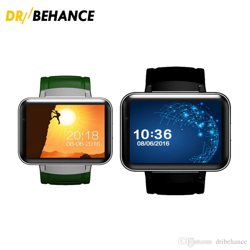 0fc66957cef DM98 Smart Watch Android 4.4 MTK6572 Dual Core 1.2Ghz 2.2 Inch IPS HD  900mAh Battery 512MB Ram 4GB Rom 3G WCDMA GPS WIFI Smartwatch Wrist Watch  Phone Cheap ...