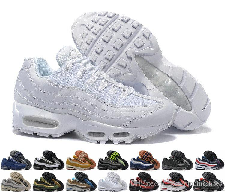 reputable site f92b0 2e4ca Acheter 2019 NIKE Air Max Airmax Ultra 20e Anniversaire 95 Hommes Chaussures  De Course 95s Hommes Formateurs Tennis Zapatos Sport Baskets Taille 40 46  De ...