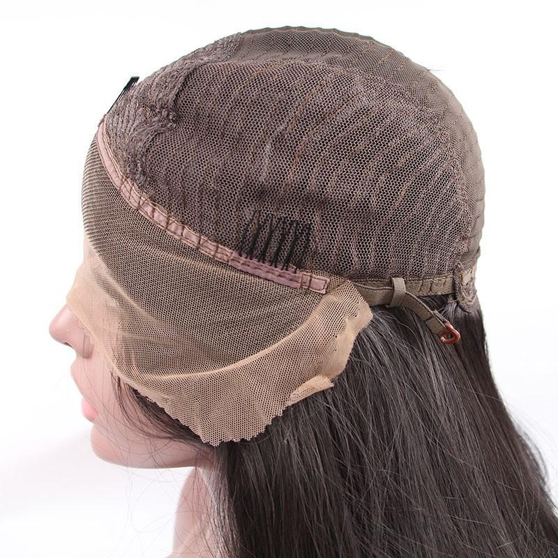 De calidad superior negro / marrón / burdeos corto Afro Kinky rizado mujeres pelucas de alta densidad del frente del cordón pelucas de pelo sintético para África americanos