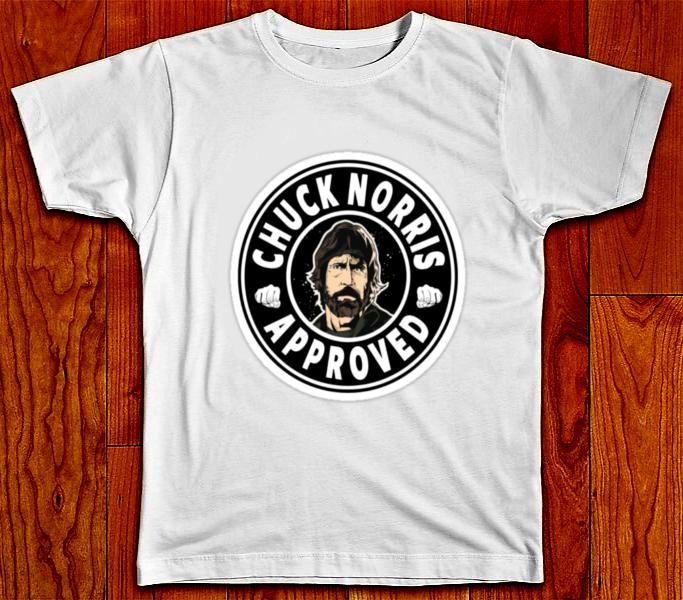 5f8d8039e8 CHUCK NORRIS APPROVED FUNNY T SHIRT Cheap T Shirts For Sale Online One Day  Only T Shirts From Daddymaher, $11.01| DHgate.Com
