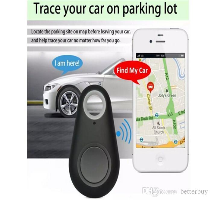 Vendita calda Mini Smart Finder Bluetooth Tracer Pet Bambino GPS Locator Tag Allarme Portafoglio Key Tracker di alta qualità