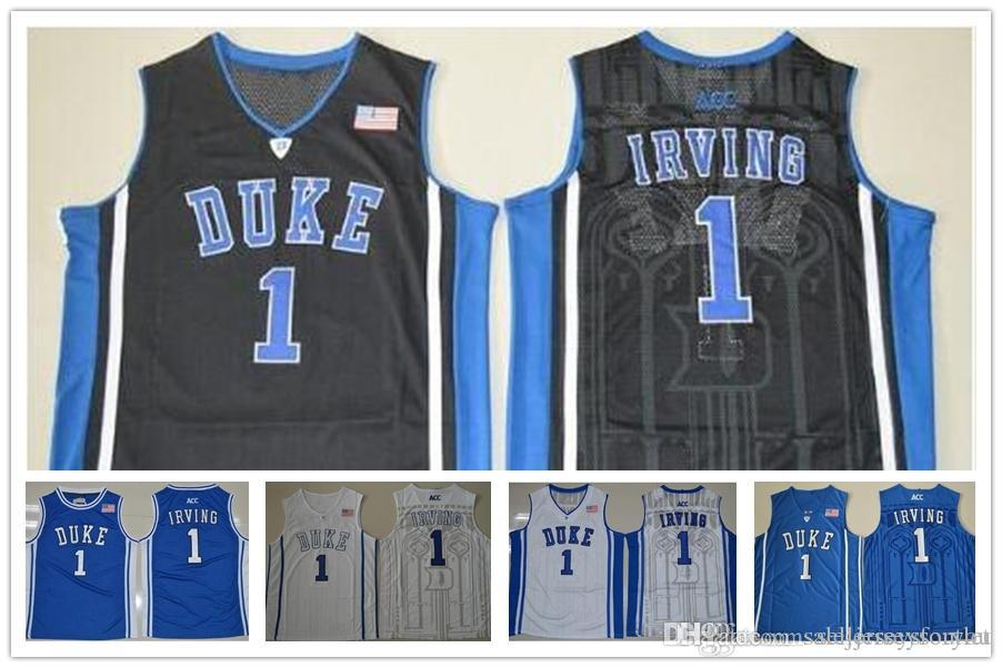 Designer Kyrie Irving Basketball Jerseys 1  Blue Devils High Quality  Throwsback Stitched Commemorative Shirts HOT SALE Cheap Baskeball Jerseys  Clearance ... a0dcb77d0