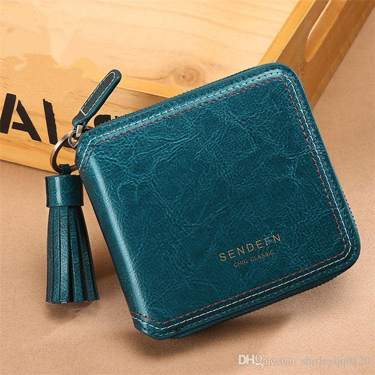Genuine Leather Clutch Purse Wallets For Women Cowhide 4 Card Square  Designer Wallets Womens Wallets Black Leather Vegan Wallet Crocodile Wallet  From ... c10a06a10e
